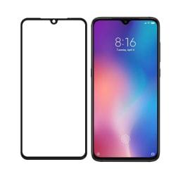 Xiaomi Mi A3 Härdat glas Heltäckande Transparent