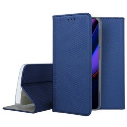 Xiaomi Redmi 9 Flip Fodral Plånboksfodral Blå Blå