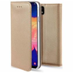 Xiaomi Redmi Note 8 Pro Flip Fodral Plånboksfodral Guld Guld