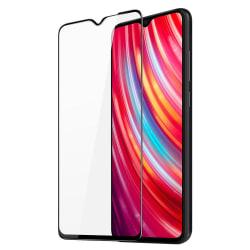 Xiaomi Redmi Note 8 Pro Skärmskydd Heltäckande Härdat Glas Transparent