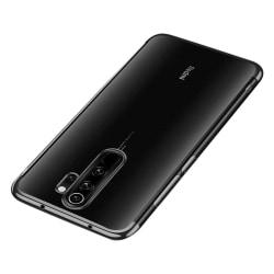Xiaomi Redmi Note 8 Pro Transparent Skal - Bumper Svart Svart