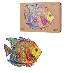 The Mysterious Fish Wooden Puzzle