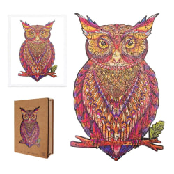 The Mysterious Owl Wooden Puzzle