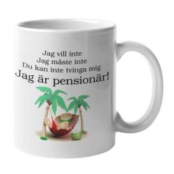 Mugg - Jag är pensionär
