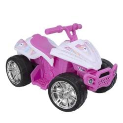 EVO Fyrhjuling Rosa Enhörning Batteridriven multifärg