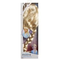 Frozen 2 Peruk Elsa Fläta multifärg