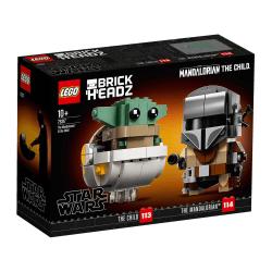 LEGO® Star Wars™ Brick Headz The Mandalorian™ & The Child 75317 multifärg