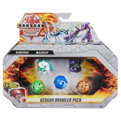 Bakugan Geogan Brawler Pack Surturan/Sluggler multifärg