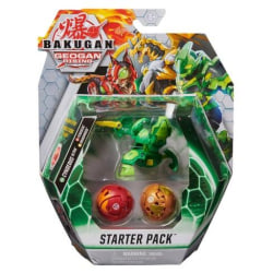 Bakugan Geogan Rising Starter Pack Cyndeos Ultra Grön multifärg