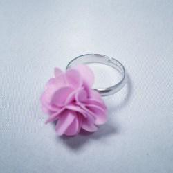 Busy Lizzie Ring Blomma Raspberry
