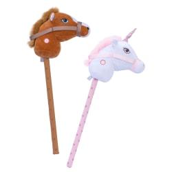 Käpphäst med ljud Enhörning Vit