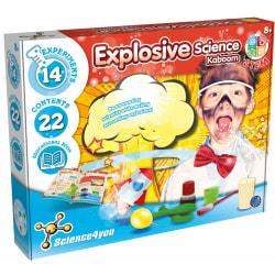 Explosive Science Experimentlåda Se/Dk