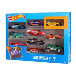 Hot Wheels 10-pack bilar 54886 multifärg