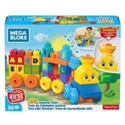 Mega Bloks ABC Musical Train multifärg