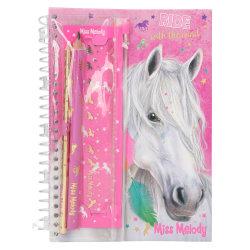 Miss Melody Anteckningsbok med skrivset