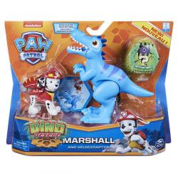 Paw Patrol Dino Rescue Marshall och Velociraptor multifärg