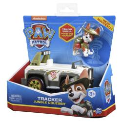 Paw Patrol Fordon med figur Tracker multifärg