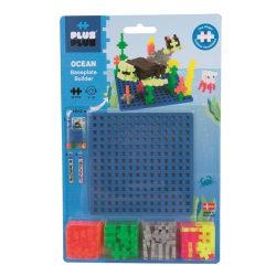 Plus Plus Ocean Builder 64 delar och basplatta