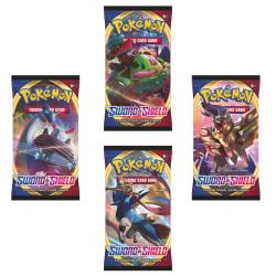 Pokemon Booster Sword & Shield  multifärg