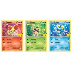 Pokemon Oversize Card 3-pack Kalos First Partners multifärg