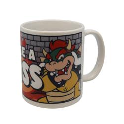Super Mario Bowser Lika a Boss Mugg