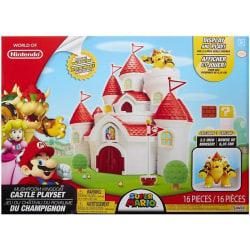 Super Mario Mushroom Kingdom Castle Lekset multifärg