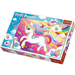 Trefl Beautiful unicorn Pussel 100 bitar