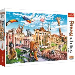 Trefl Funny Cities Wild Rome Pussel 1000 bitar 10600