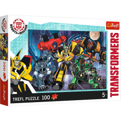 Trefl Transformers Pussel 100 bitar 16315