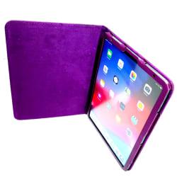 Fodral extra elegant Lila läderfodral till iPad Pro 11 (2018) Lila