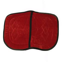 Dubbel sadel pad ryttar levererar röd stor