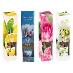 Doftpinnar 4-pack Vit lilja/Citrongräs/Citron/Ros multifärg