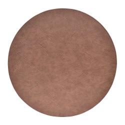 Underlägg Läder/skinnlook grå/bruna Runda 4-p Tablett multifärg