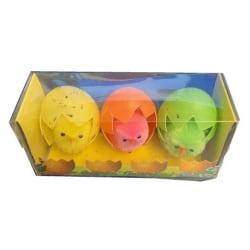 Påsk kycklingar i äggskal 3-pack multifärg