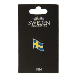 Pin Brosch Souvenir Sverige Flagga multifärg