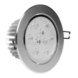ECD Germany 12-pack LED-infälld strålkastare 9W 230V 682 lumen