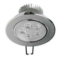 ECD Germany 12-pack LED Downlight 5W 230V - rund Ø11cm - 353