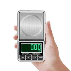 Pocketvåg - Fickvåg Deluxe 300g/0.01g - Batteri Ingår -