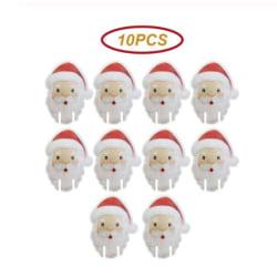 10-pack jultomtar | dukning/dekoration