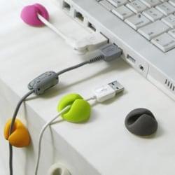 10-pack Kabelhållare för alla sorters kablar | Självhäftande