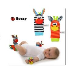 Barnleksaker 0-1 år - 4 pack