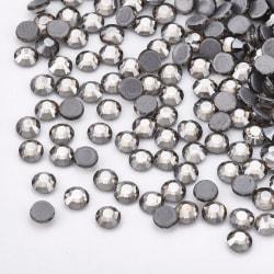 1440 st Strassstenar Hotfix Rhinestones SS6 Black Diamond grå