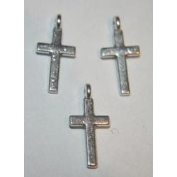 20 stycken berlocker kors  8x16.5x3.5mm