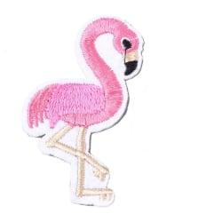 Applikation Tygmärke Flamingo
