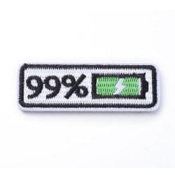 Applikation Tygmärke Loading 99%