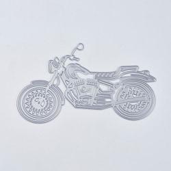 Stans / Dies till Scrapbooking Motorcykel