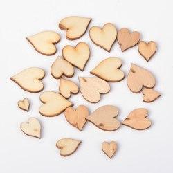 Trädekorationer Hjärtan 100 st