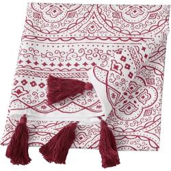 Kökshandduk Orient Cult Design  Red Röd