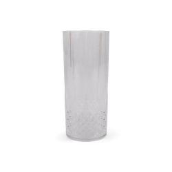 Drinkglas Silvia plast 4-pack Form Living  Transparent