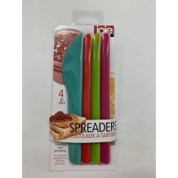 Jo!e Smörknivar 4-pack multifärg